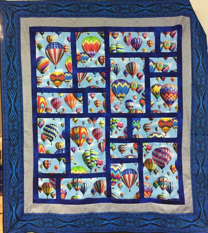 Balloon Quilt Image Four