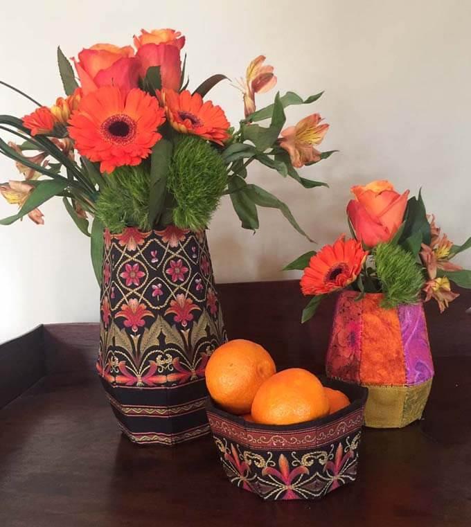 Fabriflair vase