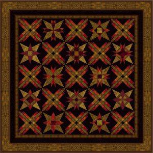 Dark quilt