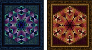My Florentine Quilt comes in two colorways