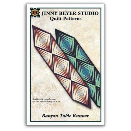Banyan Table Runner Pattern