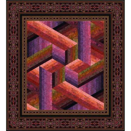 Catwalk Quilt - Wall/Sorbet