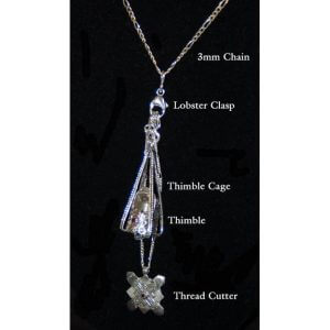 Sterling Silver Heirloom Chatelaine